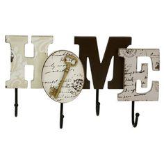 'Juliana Home Living - Perchero de pared (tablero DM), diseño Home, http://www.amazon.es/dp/B01AX67K4E/ref=cm_sw_r_pi_awdl_YbczxbQHESX6N