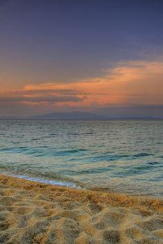 Olympiada beach in Chrysi Akti, Macedonia n Thrace_ Greece