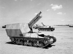 Marder I self-propelled gun, North Africa, 1943