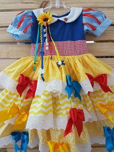 Vestidinho em tricoline Tamanho 9 meses a 6 anos Feito sob encomenda.