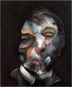 Self portrait  Francis Bacon figural expressionism   피사체의 눈빛이 너무나 슬퍼서, 그리고 나와 닮아서 마치 나 자신을 보는 것 같았다.