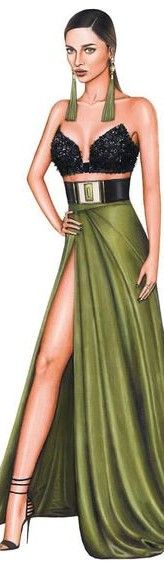 Fashion Illustration by Enver Sarac
