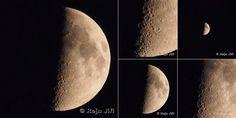 Měsíc 1.10.2014 - parádní snímky a že by i s UFO ?