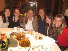 Tech Trek students enjoy dim Sum with BC alumni