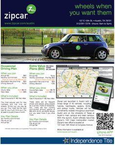 zipcar Austin