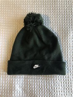 Nike Green Removable Pom Pom Beanie  fashion  clothing  shoes  accessories   mensaccessories  hats (ebay link) 1d2809f3815d