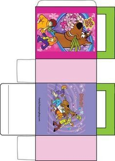 Printable Box For Scooby Snacks New Scooby Doo Scooby