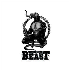 Logo Unchained Beast, for fitness team in Indonesia