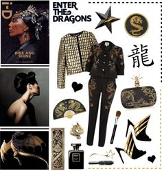 """""""Year of the dragon"""" by elske88 ❤ liked on Polyvore"""
