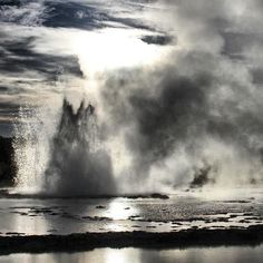 Great Fountain #Geyser in #Yellowstone National Park
