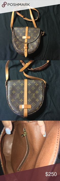 Authentic Louis Vuitton Chantilly GM Crossbody Louis Vuitton Monogram Canvas Chantilly GM Crossbody Bag AUTHENTIC great condition clean interior Louis Vuitton Bags Crossbody Bags