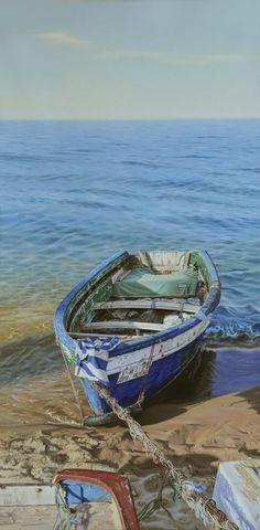 Almunia de Miguel, pintor español, pintura hiperrealista