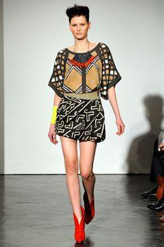 fall 2011 ready-to-wear Sass & Bide