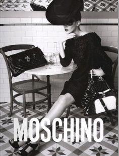 1980s Moschino fashion ad from lifeinitaly.com