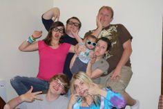 Beimers, Katy, Carly, Zac, Larry
