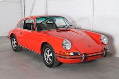 1970 Porsche 911 E in tangerine