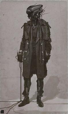 fuckyeahcyber-punk:   Tristan Rettich - Alternate... - Robots, cities, future, etc.