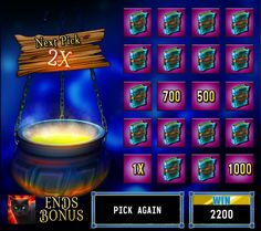 This is the boiling cauldron that you do want to visit. Lots of coins given away there, in the upcoming #HitItRich release, Magic Knights!       Click through to play any of our other games while you wait for the magic to arrive!