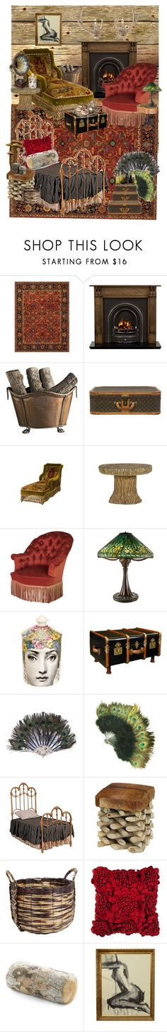 """""""rustic and victorian deco for log cabin 3"""" by michalbbb ❤ liked on Polyvore featuring interior, interiors, interior design, home, home decor, interior decorating, Ralph Lauren, Radley, Dessau Home and Jayson Home"""