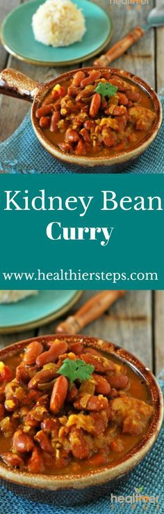 Kidney Bean Curry (Vegan, Gluten-free)