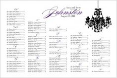 60 best seating charts images on pinterest bridal parties dream
