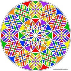 Don't Eat the Paste: Geometric Mandala