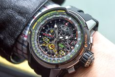 Richard Mille RM 039 Tourbillon Aviation E6-B Flyback Chronograph Watch.
