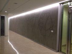 scantling. art wall.
