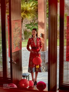 Liu Wen - Elle China March 2016