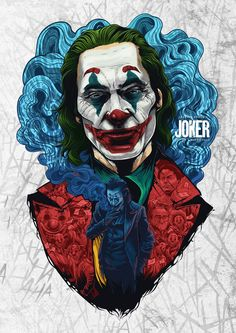 "Joaquin Phoenix won the best actor in a feature film for his excellent performance in the movie ""The Joker"". Joker Et Harley, Le Joker Batman, Gotham Batman, Joker Cartoon, The Joker, Batman Comic Art, Batman Robin, Photos Joker, Joker Images"