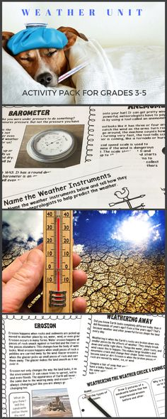 Types Of Weather Instruments : Images about all heart teaching s products