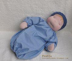 138 Waldorf Heavy Baby by FrettasLovableDolls on Etsy, $137.00
