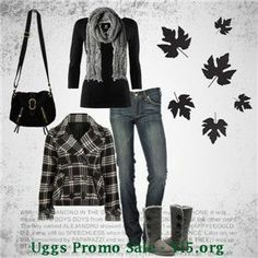 Perfect day for shopping or getting together with friends! This outfit features the UGG Classic Short Chestnut boots. Cyber Monday Ugg Boots #uggs