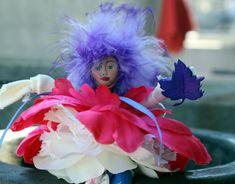 Flower Fairy Doll Fairy Briadal Shower Favor Woodland Fairy