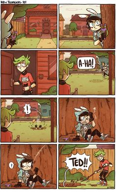 Read 99 from the story Kid n Teenagers Comics by Ms_foofy (Ms. Foofy) with 646 reads. Cute Comics, Funny Comics, Doremi Anime, Z Toon, Jagodibuja Comics, 4 Panel Life, Funny Memes, Hilarious, Silly Jokes