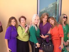 Girls at the first taping of the new Ricki Lake Show!