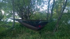 When a buddy unwrapped a lightweight Hennessy Hammock on a camping trip, I had to take a closer look at the hammock in action. Camping Equipment, Camping Gear, Hennessy Hammock, Action, Fire, Outdoor Decor, Group Action, Camping Products, Camping Products