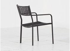 Intenso Albano diningstoel stapelbaar Black van Intenso Furniture