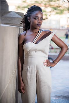 The Asymmetric Jumpsuit of the Multifaceted Range by @Up_phelele  📸 by Fertographer.com   #Up_phelele #Fashion #FashionShoot #Photoshoot #FashionPhotography #Women #LadiesWear Fashion Shoot, Fashion Photography, Women Wear, Jumpsuit, Range, Photoshoot, Instagram, Overalls, Cookers