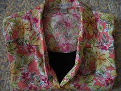 Notations 2X Womans Cami Blouse Floral & Black Un-Worn