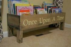Once Upon a Time book storage