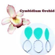 Us 4 99 Cymbidium Orchid Petal Flower Cutter Cake Decorating Tools Fondant Mold Cattleya Orchid Petal Ve In 2020 Cymbidium Orchids Cake Decorating Tools Daisy Petals