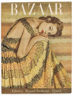 Harper's Bazaar cover January 1953  Photo by Louise Dahl Wolfe
