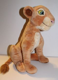 Disney Nala from The Lion King Plush Stuffed Animal Approx 16 inches Preowned #Disney