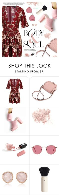 """""""Body & Soul"""" by black-fashion83 ❤ liked on Polyvore featuring Bare Escentuals, Ray-Ban, Monica Vinader and H&M"""
