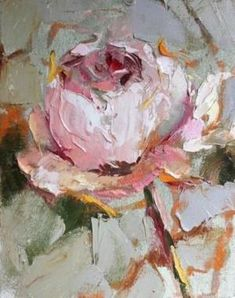 Draw Flower Patterns Pink Peony - Susie Pryor by sheri Arte Pallet, Palette Knife Painting, Rose Art, Art Paintings, Floral Paintings, Indian Paintings, Abstract Paintings, Landscape Paintings, Painting Techniques