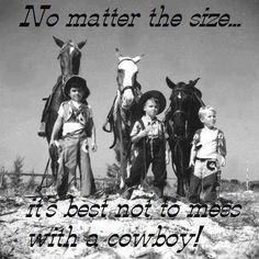 Three boys dressed as a cowboys with their horses: Saint Petersburg, Florida by State Library and Archives of Florida, 1947 Little Cowboy, Cowboy Up, Cowboy And Cowgirl, Real Cowboys, Cowboys And Indians, Old Pictures, Old Photos, Cowboy Pictures, Three Boys