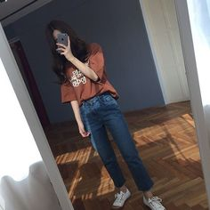 💙 Get free feedback on your own looks & rate other outfits 💙 How many stars would you rate this look ? Rate fashion and get feedback on your style from all over the world 🌎 The Korean Street Fashion, Korea Fashion, Fashion 101, Asian Fashion, Daily Fashion, Girl Fashion, Womens Fashion, Korean Outfits, New Outfits