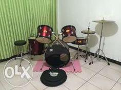 Pearl Target Drum set