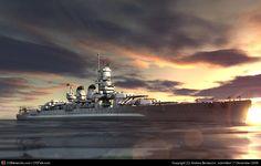 Vittorio Veneto Italian battleship